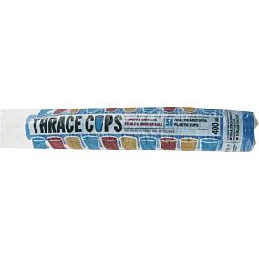 Ποτήρια πλαστικά PP μπλε 400ml (50τεμ.)