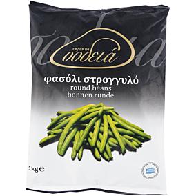 Φασολάκια ΕΚΛΕΚΤΗ ΣΟΔΕΙΑ στρογγυλά κατεψυγμένα (1kg)