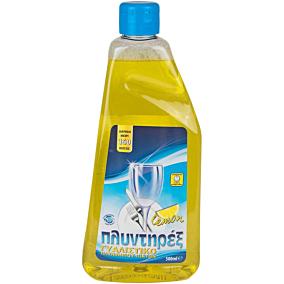 Γυαλιστικό ΠΛΥΝΤΗΡΕΞ πλυντηρίου πιάτων λεμόνι (500ml)