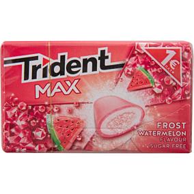 Τσίχλες TRIDENT Max frost watermelon καρπούζι (1τεμ.)