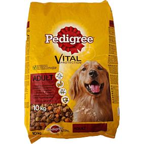 Τροφή PEDIGREE σκύλου complete menu με μοσχάρι, κοτόπουλο και γαλοπούλα (10kg)