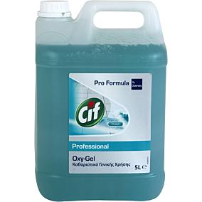 Καθαριστικό Oxy-Gel CIF για το πάτωμα ocean fresh (5lt)