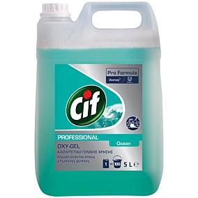 Καθαριστικό CIF Oxy-Gel  για το πάτωμα ocean fresh (5lt)
