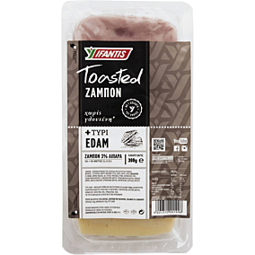 Ζαμπόν και τυρί edam IFANTIS σε φέτες (300g)