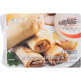 Κρέπα CASTELLO με ζαμπόν και τυρί κατεψυγμένη (5x400g)