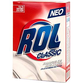 Απορρυπαντικό ROL classic για πλύσιμο στο χέρι, σε σκόνη (380g)