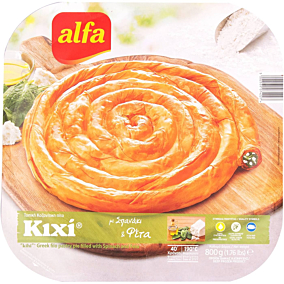 Πίτα ALFA κιχί με σπανάκι κατεψυγμένη (800g)