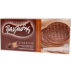Μπισκότα ΠΑΥΛΙΔΗΣ digestive με σοκολάτα γάλακτος (200g)