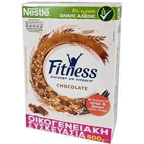 Δημητριακά NESTLE Fitness με σοκολάτα γάλακτος (600g)
