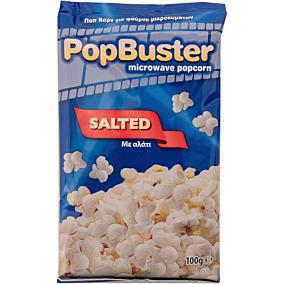 Ποπ κορν POPBUSTER αλάτι για μικροκύματα (100g)