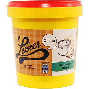 Σούπα σε σκόνη LECKER κοτόσουπα κρέμα (770g)