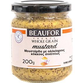 Μουστάρδα BEAUFOR με κόκκους (200g)