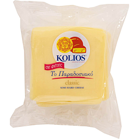 Τυρί KOLIOS ημίσκληρο σε φέτες (500g)