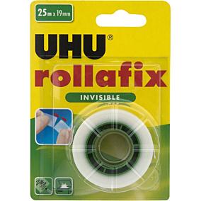 Κολλητική ταινία UHU Rollafix αόρατη 25m