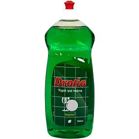 Απορρυπαντικό πιάτων DROLIO regular, υγρό (750ml)