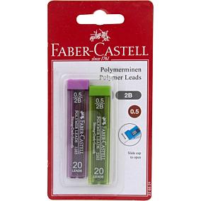 Ανταλλακτικές μύτες FABER-CASTELL για μηχανικά μολύβια 0.5 (2τεμ.)