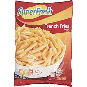 Πατάτες SUPER FRESH προτηγανισμένες κατεψυγμένες 9x9 (2,5kg)