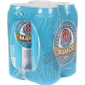 Μπύρα ΜΑΜΟΣ (4x500ml)