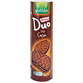 Μπισκότα GULLÓN meGa Duo doble (500g)