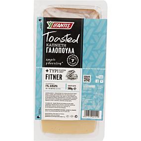 Γαλοπούλα και τυρί Fitner IFANTIS σε φέτες (300g)