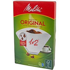 Φίλτρα για καφέ MELITTA 1x2 (40τεμ.)