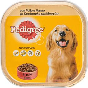 Τροφή PEDIGREE σκύλου με μοσχάρι και κοτόπουλο (300g)