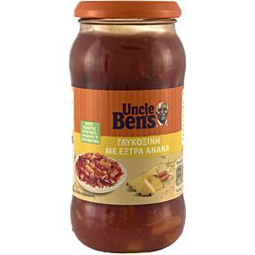 Σάλτσα UNCLE BEN'S γλυκόξινη (450g)