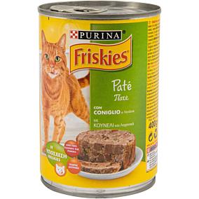 Τροφή FRISKIES γάτας με κουνέλι (400g)