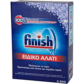 Αποσκληρυντικό FINISH πλυντηρίου πιάτων, ειδικό αλάτι (2,5kg)