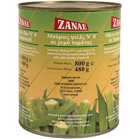Κονσέρβα ΖΑΝΑΕ μπάμιες τομάτας (800g)