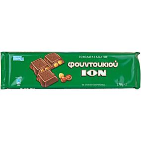 Σοκολάτα ΙΟΝ γάλακτος φουντούκι (270g)