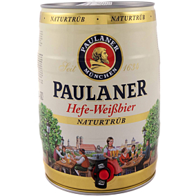 Μπύρα PAULANER hefe weiss (5lt)