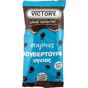 Σταγόνες VICTORY σοκολάτας υγείας (100g)