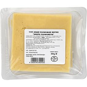 Τυρί ΣΚΛΑΒΕΝΙΤΗΣ edam σε φέτες Ολλανδίας (350g)