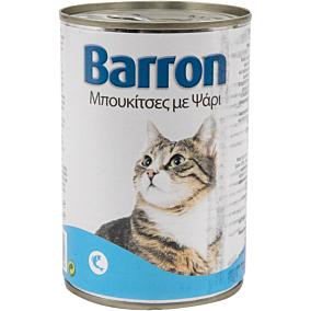 Τροφή BARRON γάτας με ψάρι (400g)