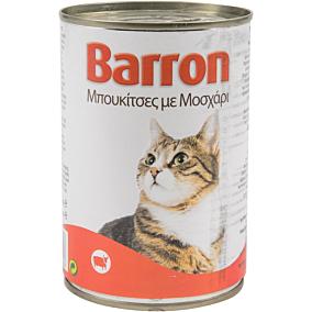 Τροφή BARRON γάτας με κρέας (400g)