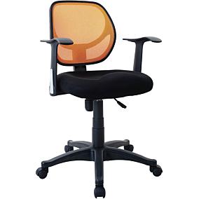 Καρέκλα STAMPA γραφείου mesh πορτοκαλί
