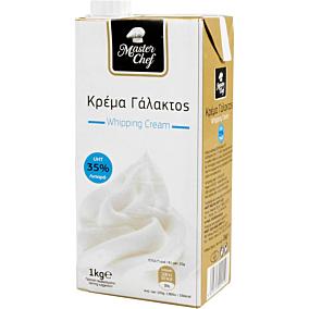 Κρέμα γάλακτος MASTER CHEF 35% λιπαρά (1lt)