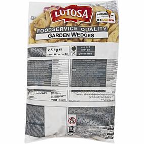 Πατάτες LUTOSA garden wedges με μυρωδικά κατεψυγμένες (2,5kg)