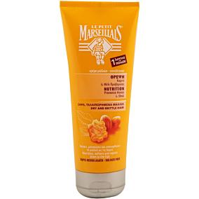 Μαλακτική κρέμα LE PETIT MARSEILLAIS με γάλα karite και μέλι για ξηρά και ταλαιπωρημένα μαλλιά (200ml)