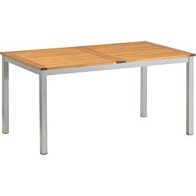 Τραπέζι RESORT LINE από αλουμινίου και ξύλο 150x89