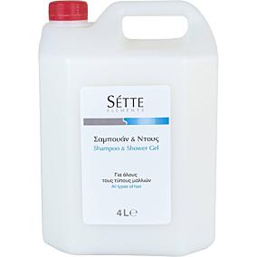 Αφρόλουτρο SETTE ELEMENTS Unisex Hair & Body (4lt)