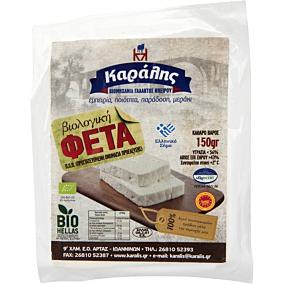 Τυρί ΚΑΡΑΛΗΣ φέτα βιολογική (150g)