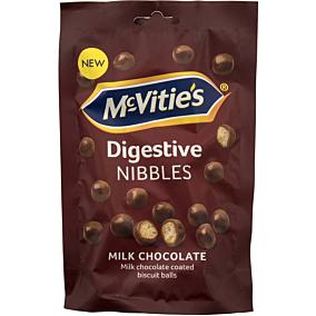 Κουφετάκια MCVITIE'S nibbles με σοκολάτα γάλακτος (120g)