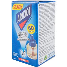 Εντομοαπωθητικό AROXOL υγρό ανταλλακτικό -2,3€