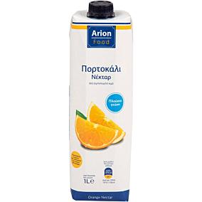 Χυμός ARION FOOD νέκταρ πορτοκάλι (1lt)