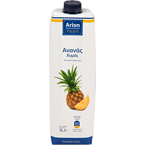 Φυσικός χυμός ARION FOOD ανανά (1lt)