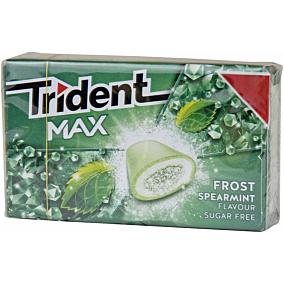 Τσίχλες TRIDENT Max frost spearmint δυόσμος (16τεμ.)