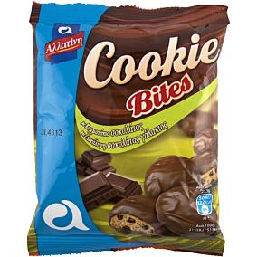 Μπισκότα ΑΛΛΑΤΙΝΗ Cookie Bites με σοκολάτα γάλακτος (70g)