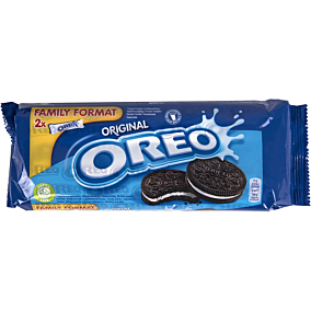 Μπισκότα OREO με βανίλια (2x154g)